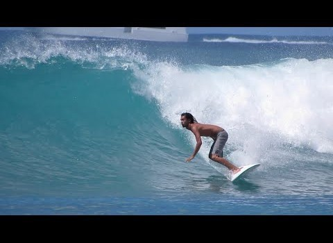 サーフムービー:Surfing in Hawaii: Queens, Waikiki. 10.02.2014 – South shore