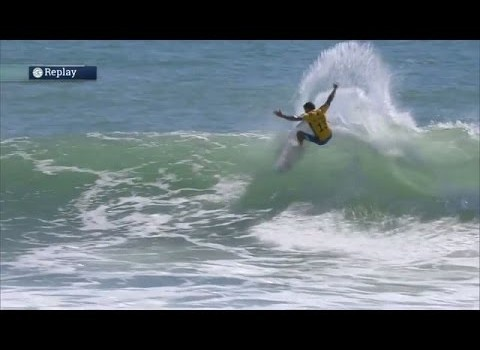 サーフムービー:De Souza Answers Back in Hurley Pro Final