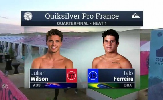 サーフムービー:2015 Quik Pro France: QF, H1 Recap