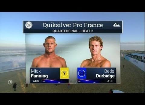 サーフムービー:2015 Quik Pro France: QF, H2 Recap