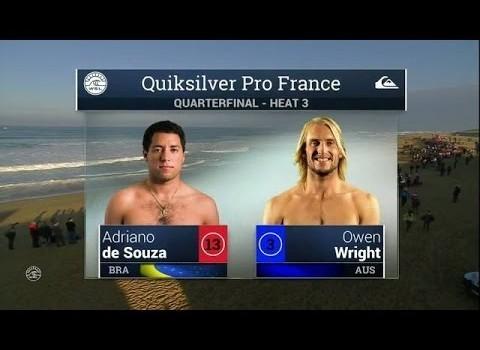 サーフムービー:2015 Quik Pro France: QF, H3 Recap