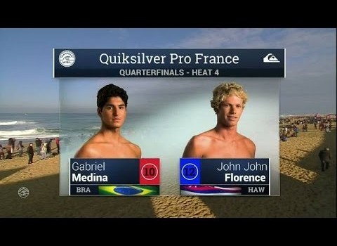 サーフムービー:2015 Quik Pro France: QF, H4 Recap