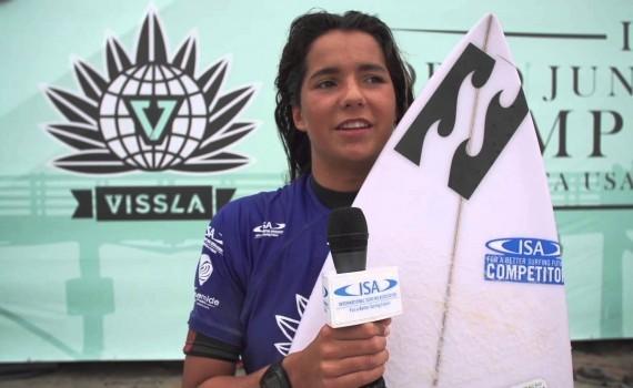開催中:ISA WORLD JUNIOR SURFING CHAMPIONSHIP、DAY4ムービー