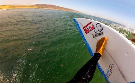 サーフムービー:GoPro: Kelly Slater Surfs Lower Trestles