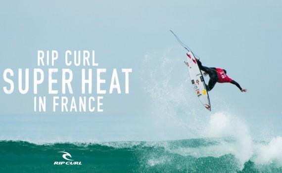 サーフムービー:Super Heat in France