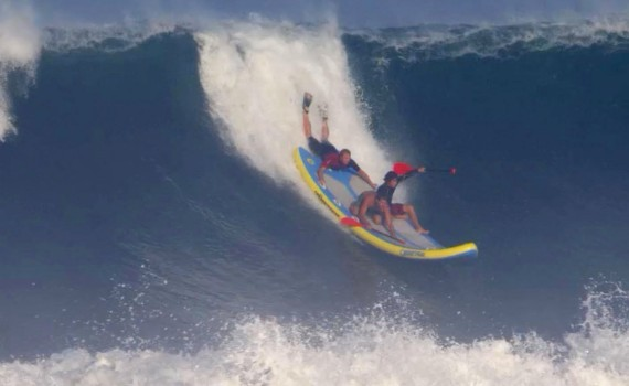 サーフムービー:Who is JOB 5.0 – Big Wave Supsquatch Barrels in Mexico – Ep 9