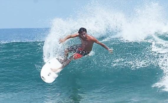 サーフムービー:96 Degrees in the Shade   SURF in Mexico   Jeremy Flores