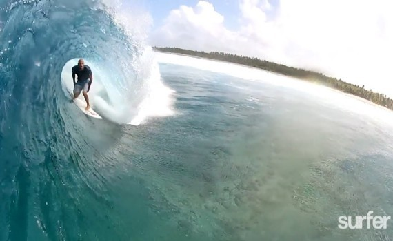 サーフムービー:SURFER – Kelly Slater's Secret Atoll