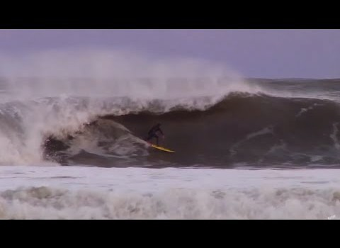 サーフムービー:Surfing 10ft Swell – Outerbanks, North Carolina | Nub TV