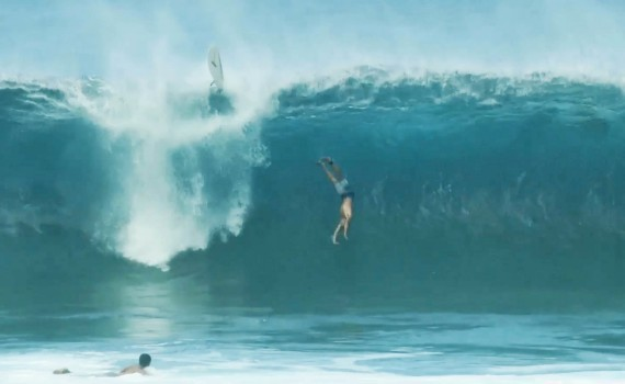 サーフムービー:Getting Pounded at Pipeline: Biggest Wipeouts | This Is Live