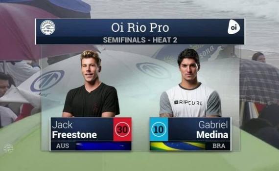 サーフムービー:2016 Oi Rio Pro: Semifinals, Heat 2 Video