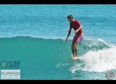 サーフムービー:Joel Tudor and Tom Curren Surfing Malibu – SurfAid Cup