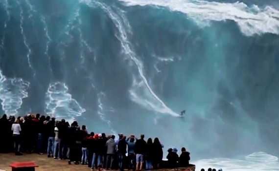 サーフムービー:Biggest Waves Ever Surfed – Nazare