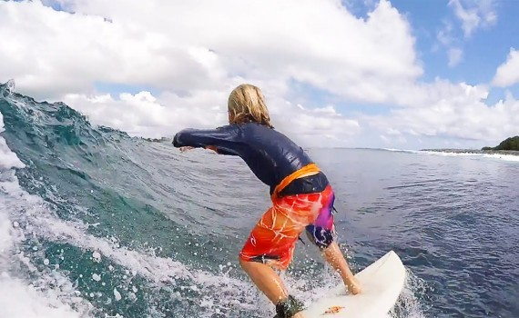 サーフムービー:Gromheaven | SURF Kids | Hugo Prins in Maldives