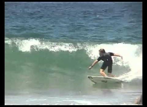 サーフィンHOWTO:テイクオフ、トップアクション、レールワーク