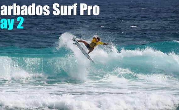 Barbados Surf Pro | Day 2 ハイライト