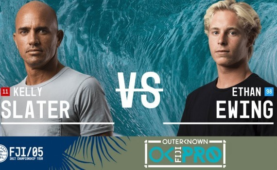 WSL CTツアー フィジー Kelly Slater vs. Ethan Ewing