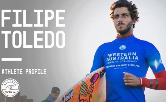 WSL アスリートプロファイル Filipe Toledo