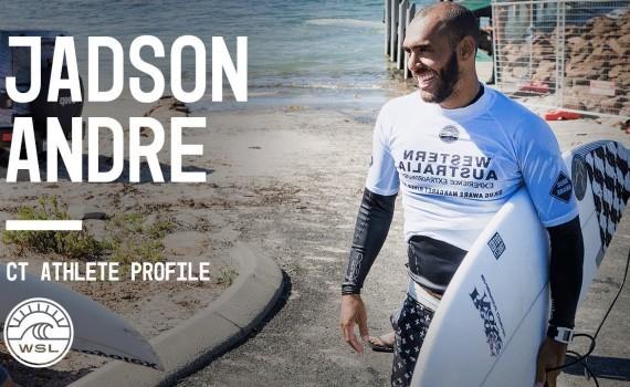 WSL アスリートプロファイル Jadson Andre