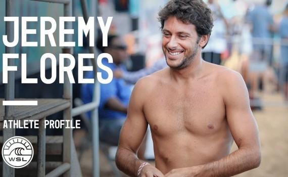 WSL アスリートプロファイル Jeremy Flores
