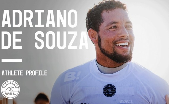 WSL アスリートプロファイル Adriano De Souza