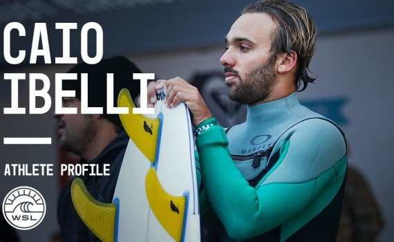 WSL アスリートプロファイル Caio Ibelli