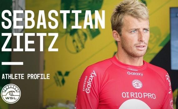 WSL アスリートプロファイル Sebastian Zietz