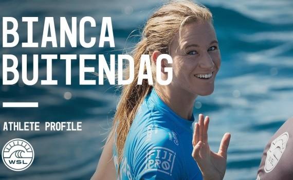 WSL アスリートプロファイル Bianca Buitendag