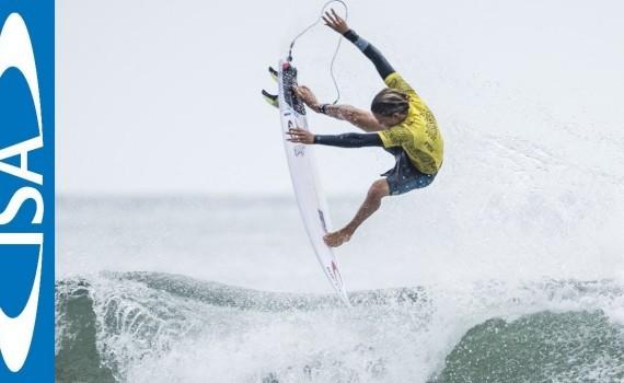 サーフィン世界戦ムービー:安室丈がU-16クラスで優勝