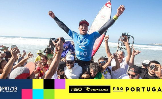 WSL MEO リップカール Pro Portugal 2017 Final Day ハイライト