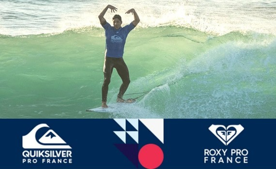 WSL Quiksilver & Roxy Pro France 2017 Final Day ハイライト