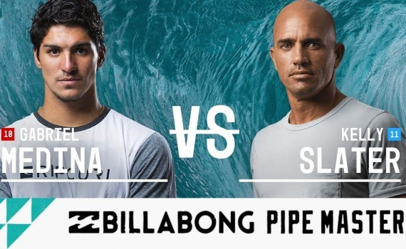 ケリースレーター vs. Gabriel Medina- Round Five, Heat 3 – Billabong Pipe Masters 2017
