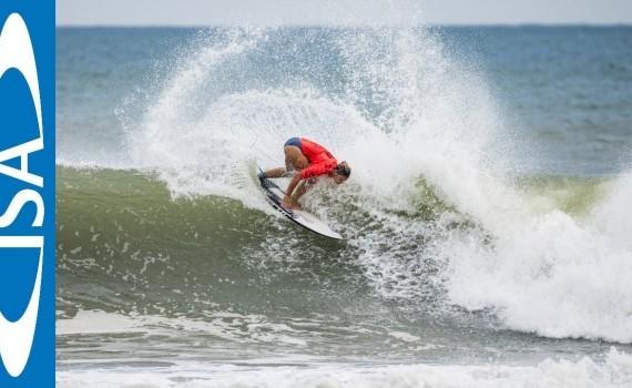 DAY2 ハイライトムービー 2018 UR ISA World Surfing Games @伊良湖 ロングビーチ